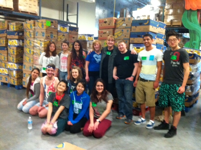 SPP Service Group at Second Harvest 3 27 2014